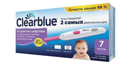 ClearBlue Digital Тест на овуляцию, 7 шт.